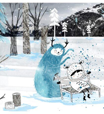 Snow Monster Sticker