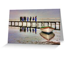 Reflections of love Greeting Card