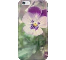 Pansy Fantasy iPhone Case/Skin