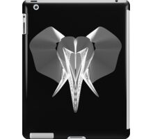 The Elephant (White) iPad Case/Skin