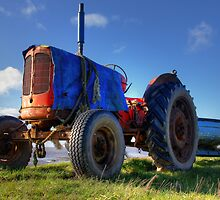 Mr Red Tractor by Darren Kitchen
