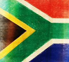 South Africa flag  by naphotos