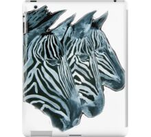 ZEBRAS   I PAD/TEES/PHONE/STICKERS/ART iPad Case/Skin