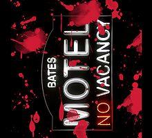 Bloody Bates Motel - iPad Case by Bryan Freeman