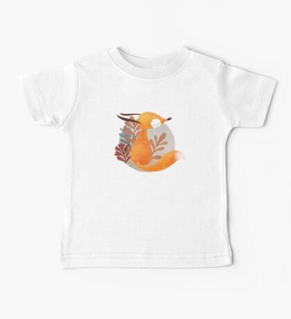 Portrait of fox Baby Tee