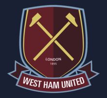 west ham united 1895 Kids Tee