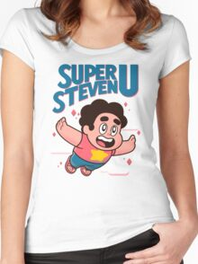 Super Steven U Women's Fitted Scoop T-Shirt
