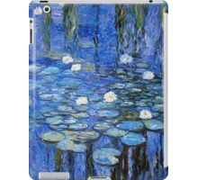 water lilies a la Monet iPad Case/Skin