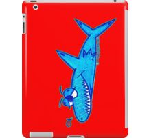 Sharky On Red (iPad Case) iPad Case/Skin