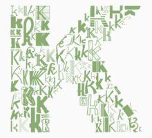Font Fashion K by eldram