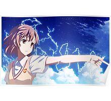 Toaru Kagaku no Railgun: Misaka Mikoto Poster Poster