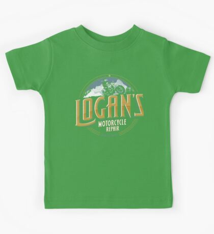 Logan's Motorcycle Repair Kids Tee