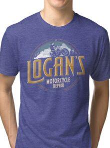 Logan's Motorcycle Repair Tri-blend T-Shirt