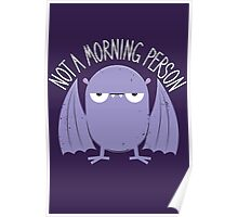 Not A Morning Person (Version 2) Poster