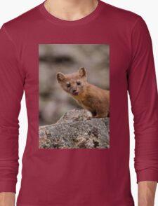 Funny Weasel Long Sleeve T-Shirt