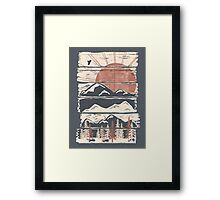 Winter Pursuits... Framed Print