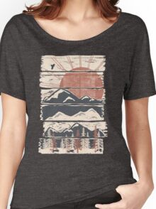 Winter Pursuits... Women's Relaxed Fit T-Shirt
