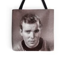 William Shatner by John Springfield Tote Bag