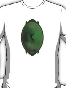 A green dragon emerging from the mist T-Shirt
