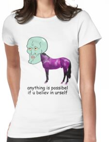 Reach For Da Stars Womens Fitted T-Shirt