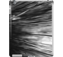 black and white grass iPad Case/Skin