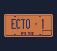Ecto 1 License Plate by superedu