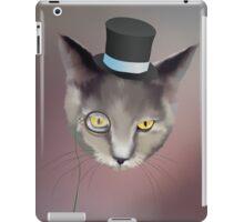 Dapper Cat About Town iPad Case/Skin