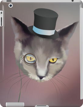 Dapper Cat About Town by Rob Goforth