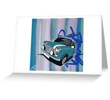 Mini Stripes 01 Painting Greeting Card