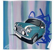 Mini Stripes 01 Painting Poster