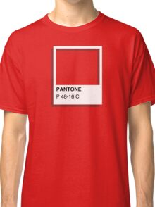 Colours of Red Bubble: Red Classic T-Shirt