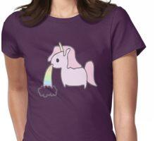 --unicorn- Womens Fitted T-Shirt