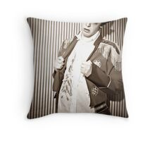 Circus Of Horrors.  Throw Pillow