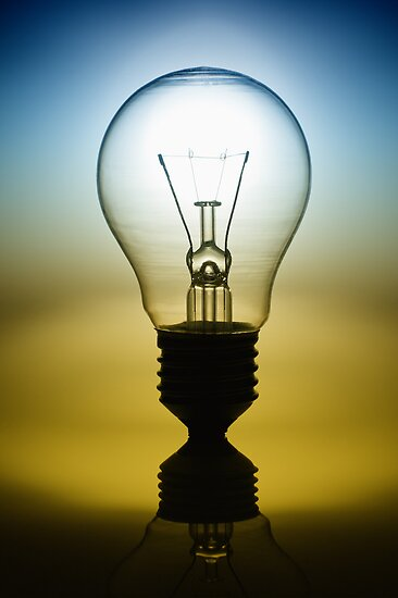 light bulb by naphotos