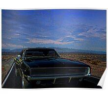 """1968 Dodge Charger  """"Bullitt"""" Poster"""