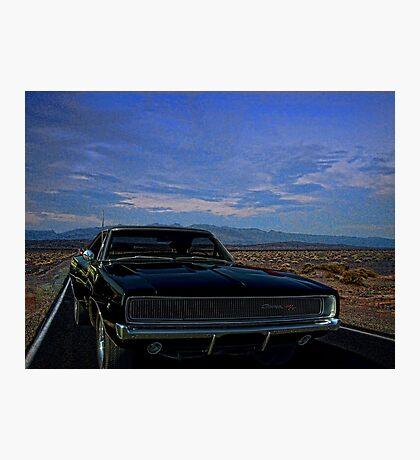 "1968 Dodge Charger  ""Bullitt"" Photographic Print"