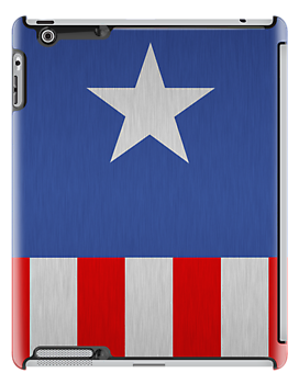 Captain America - Star & Stripes by amanoxford