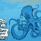 Marketing is an Angry Octopus by Timbuktoons