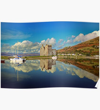 Lochranza Castle, Isle of Arran Poster