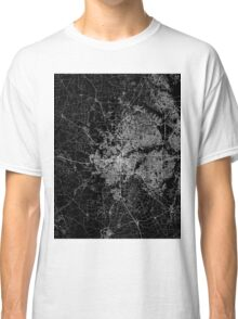 Fort Worth map Texas Classic T-Shirt
