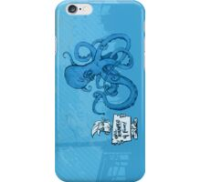 Marketing is an Angry Octopus iPhone Case/Skin