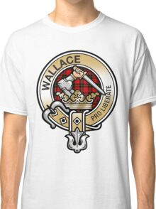 Wallace Clan Crest Classic T-Shirt