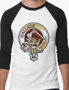 Wallace Clan Crest Men's Baseball ¾ T-Shirt