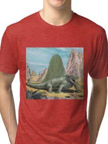 Dimetrodon Tri-blend T-Shirt