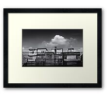old buildings Framed Print