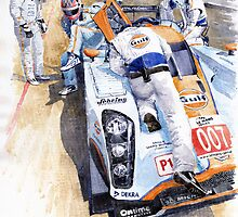 Lola Aston Martin LMP1 Gulf Team 2009 by Yuriy Shevchuk