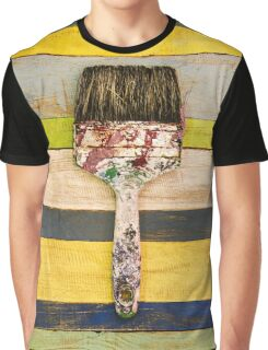 BRUSH CITRUS Graphic T-Shirt