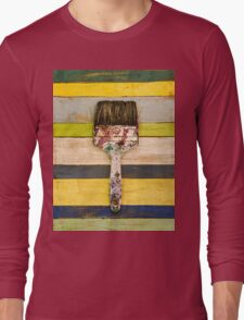 BRUSH CITRUS Long Sleeve T-Shirt