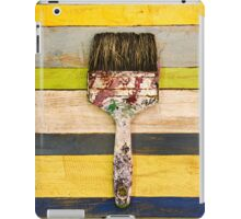 BRUSH CITRUS iPad Case/Skin