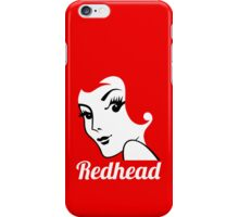 Miss Redhead (text) [iPhone / iPad / iPod case | Tshirt | Print] iPhone Case/Skin